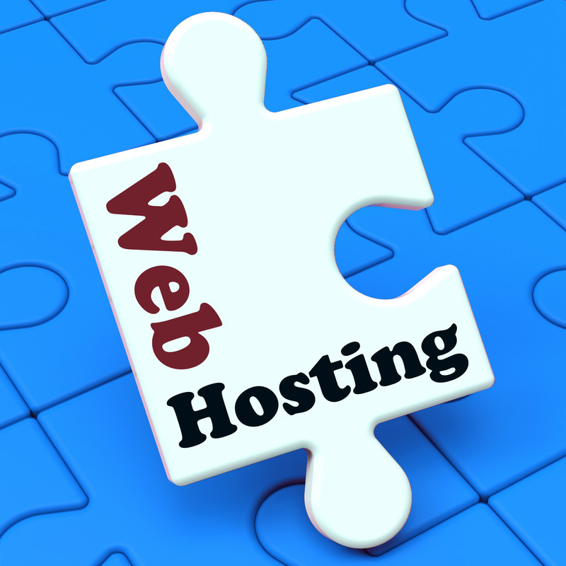 web hosting puzzle piece
